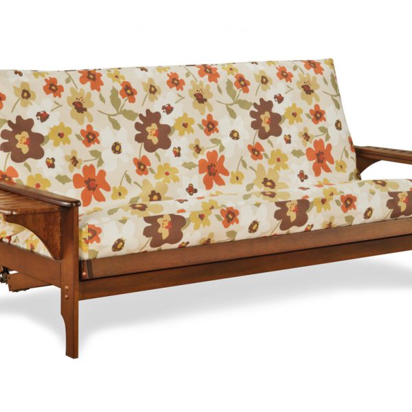 futon base bed bases york frame pine on wheels