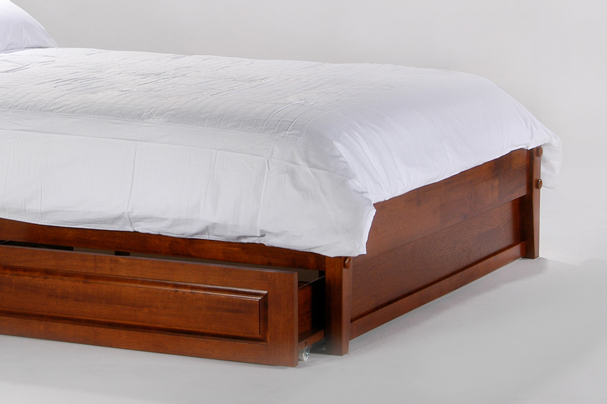 basic bed footboard panelfuton