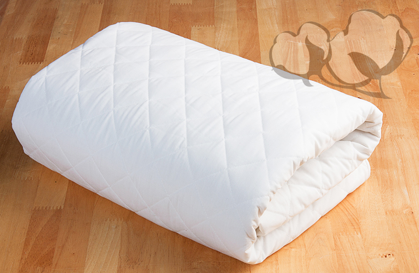 Natural Cotton mattress cover - Futon d'or & Natural mattresses