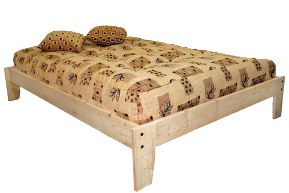 kyoto base lit  bois wood bed frame