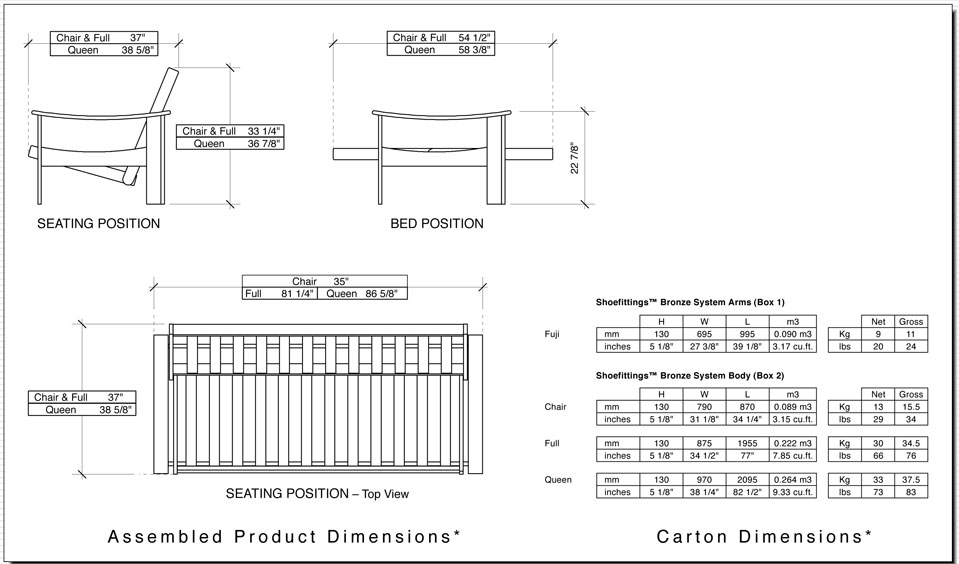 Medium image of nikko base futon frame dimensions