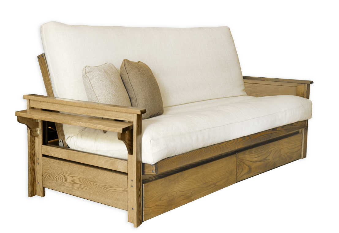 Ottawa Oak Futon Frame D Or