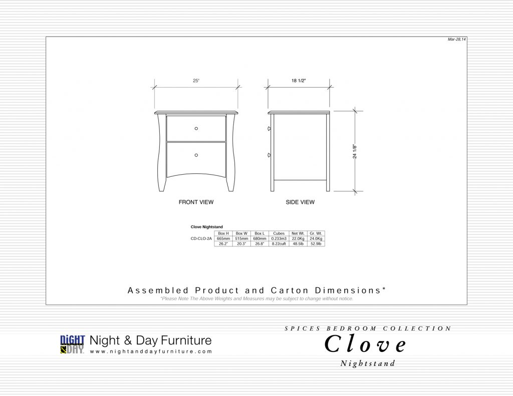 Clove-Nightstand-Dimensions