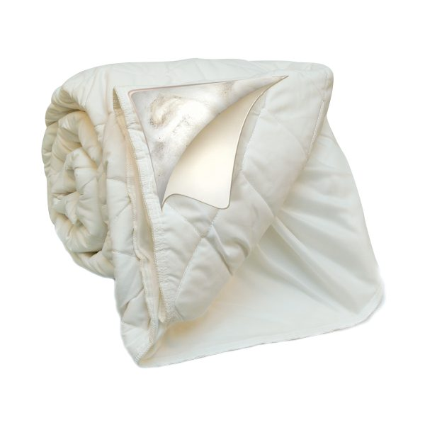Natura Washable Wool mattress cover Natura_FittedMatPad_WashNSnuggle_Contents