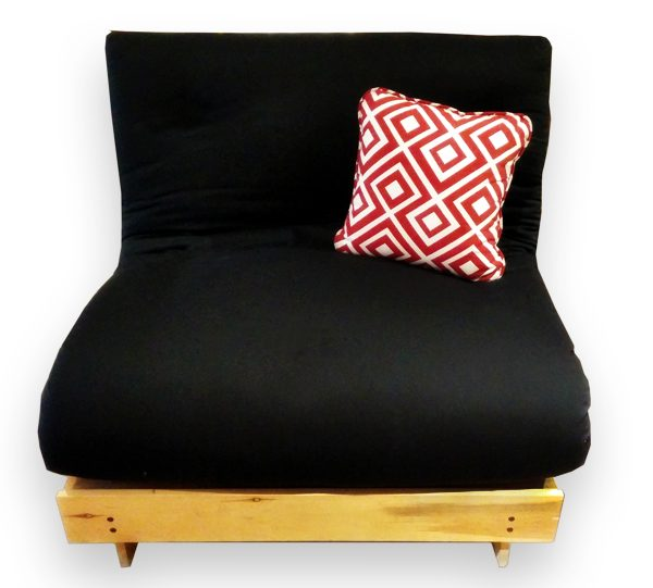 Turina Simple Noir Base Futon Frame