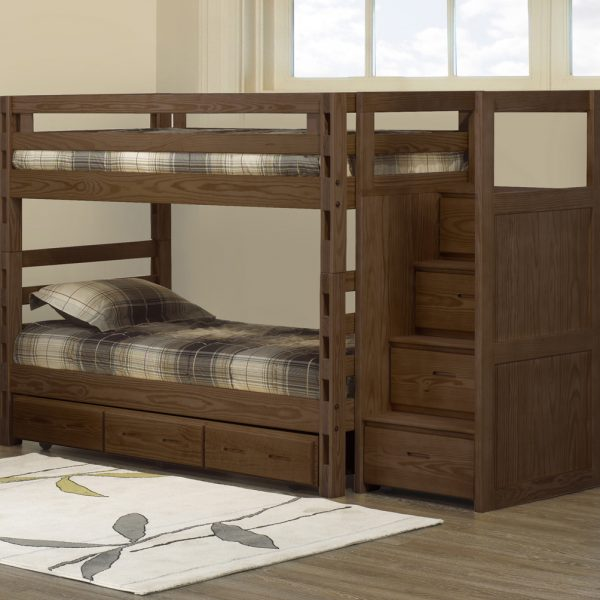 Crate Designs Bunk Bed Twin Twin Futon D Or Natural