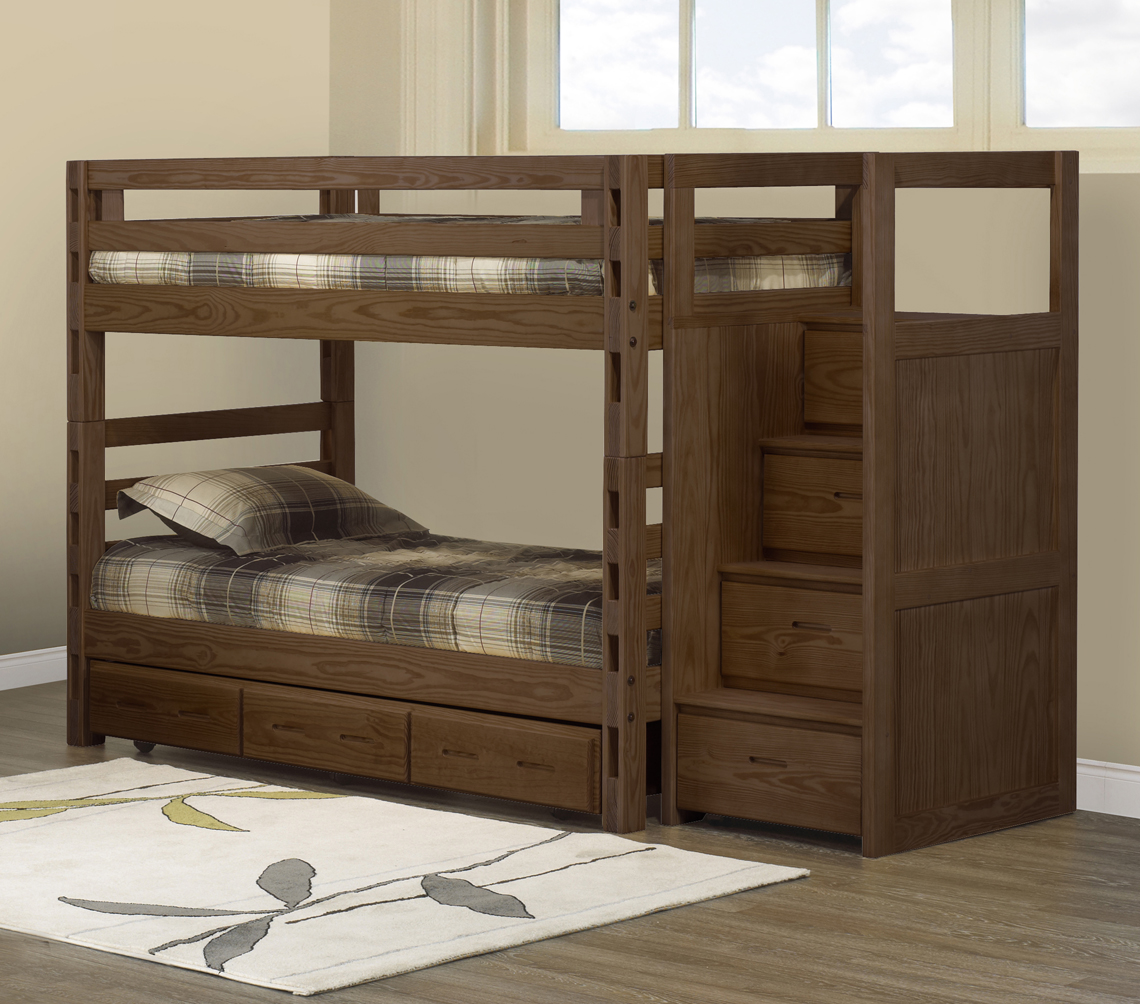 Crate Designs Bunk Bed Twin Twin Futon D Or Amp Natural