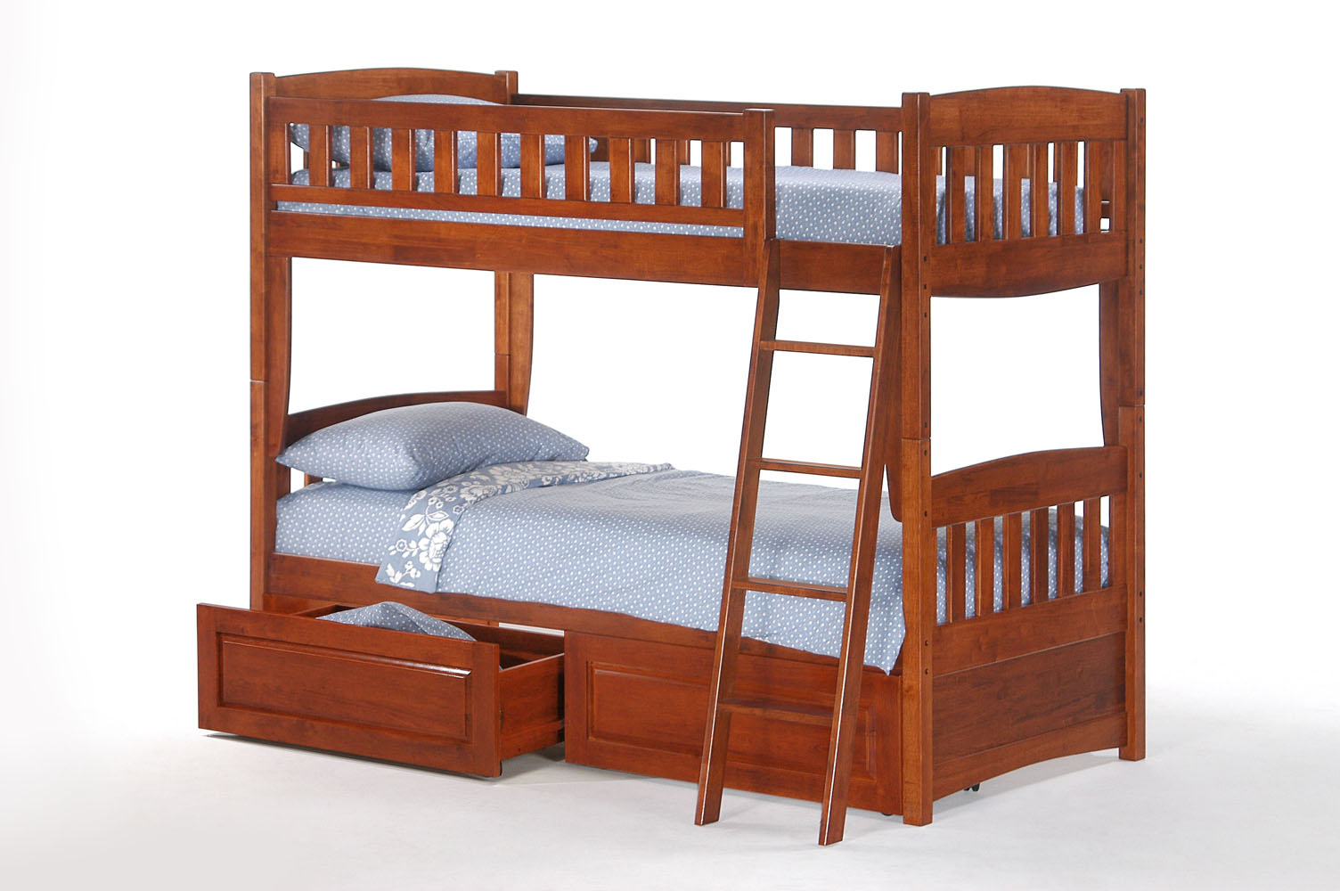 Ginger Bunk Bed Night Day Double Double Futon D Or Natural
