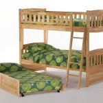 cinnamon twin twin bunk natural w trundle openedfuton