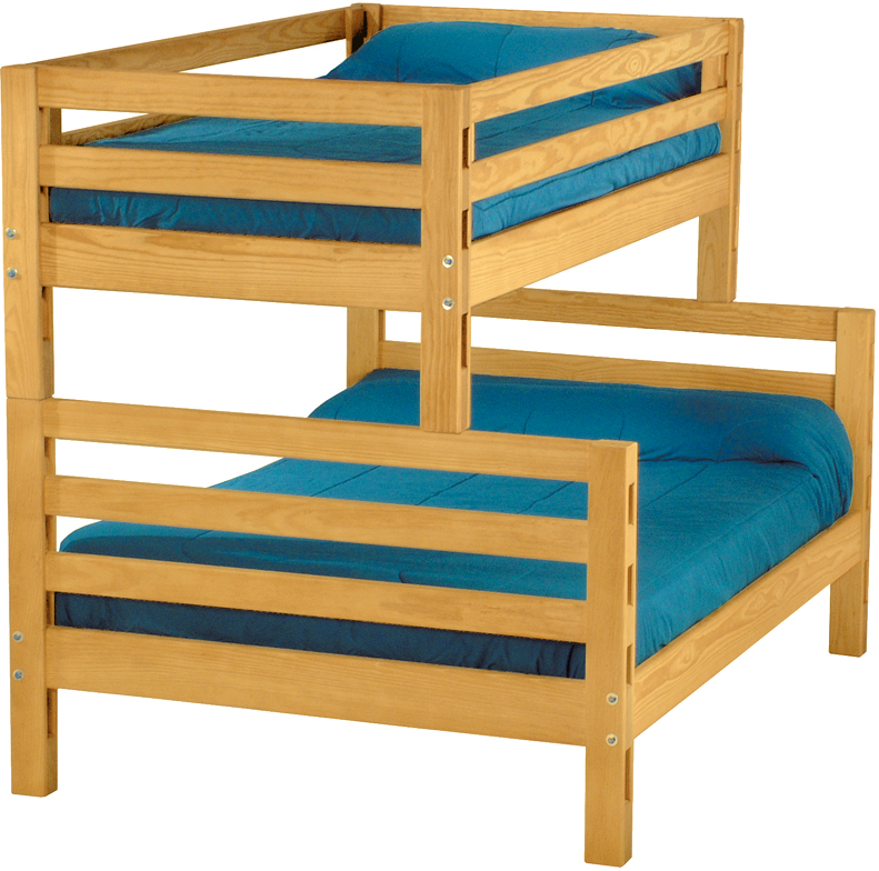 Crate Designs Bunk Bed Double Futon D Or Natural