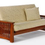 Futon Solstice Arm Cherry