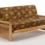 Futon Solstice Arm Natural